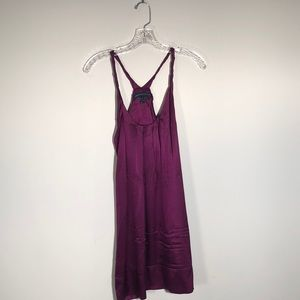 French Connection Satin Racerback Dress
